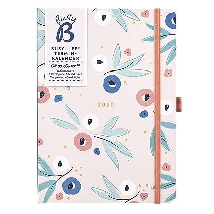 Busy B - Agenda 2020 para personas con flores - planificador ...