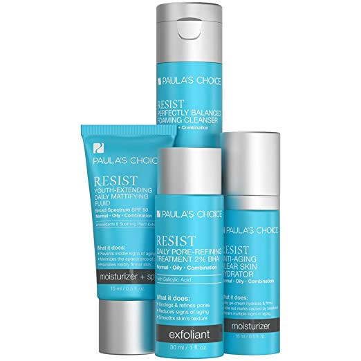 Paula's Choice Resist Trial Kit for Wrinkles + Breakouts