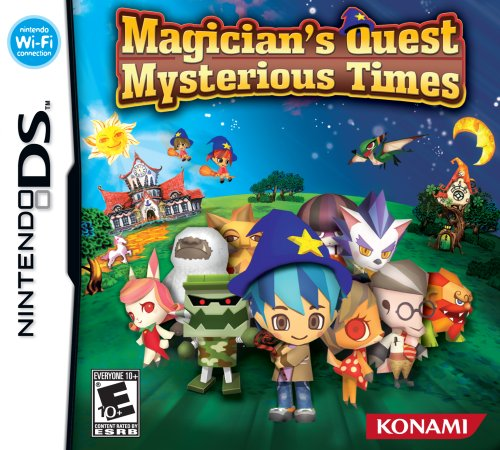 Magician's Quest: Mysterious Times - Nintendo DS by Konami