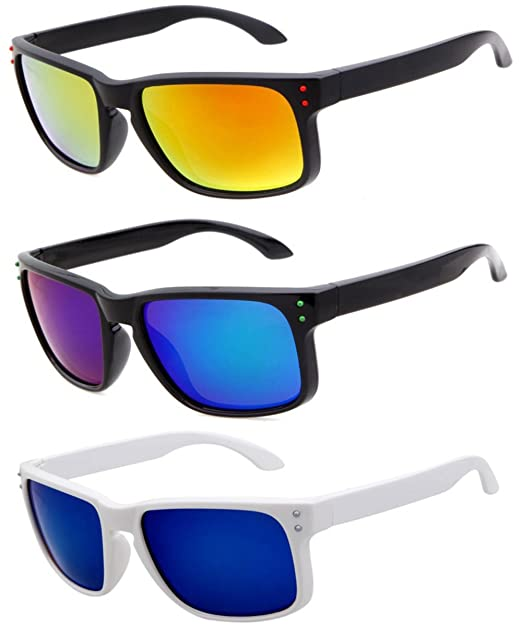 Amazon.com: Lentes polarizadas muchos Marco de color a ...