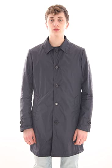 ASPESI Impermeabile Nylon Blu, Uomo.: Amazon.it: Abbigliamento