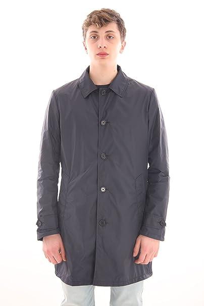 8459195a1e ASPESI Impermeabile Nylon Blu, Uomo.: Amazon.it: Abbigliamento