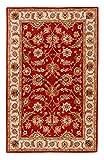 Jaipur Living Selene Tapete oriental rojo cocido a mano (9 'X 12')