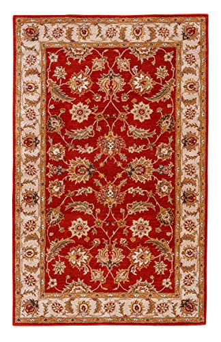- Jaipur Living Selene Hand-Tufted Oriental Red Area Rug (4' X 16')