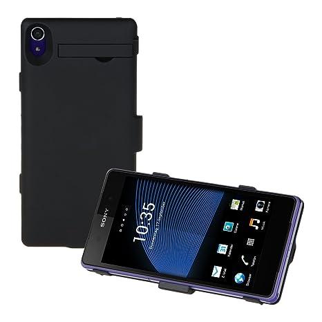 kwmobile Carcasa con cargador para Xperia Z2 de Sony ...