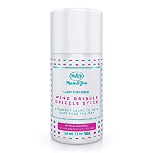 Mum & You Baby Explorer Wind, Drizzle, Dribble Stick, 1 ea (1.7 oz). Face Balm to Protect Baby's Skin from Drool, Runny Nose and The Elements. Soothes Eczema and Irritated Skin