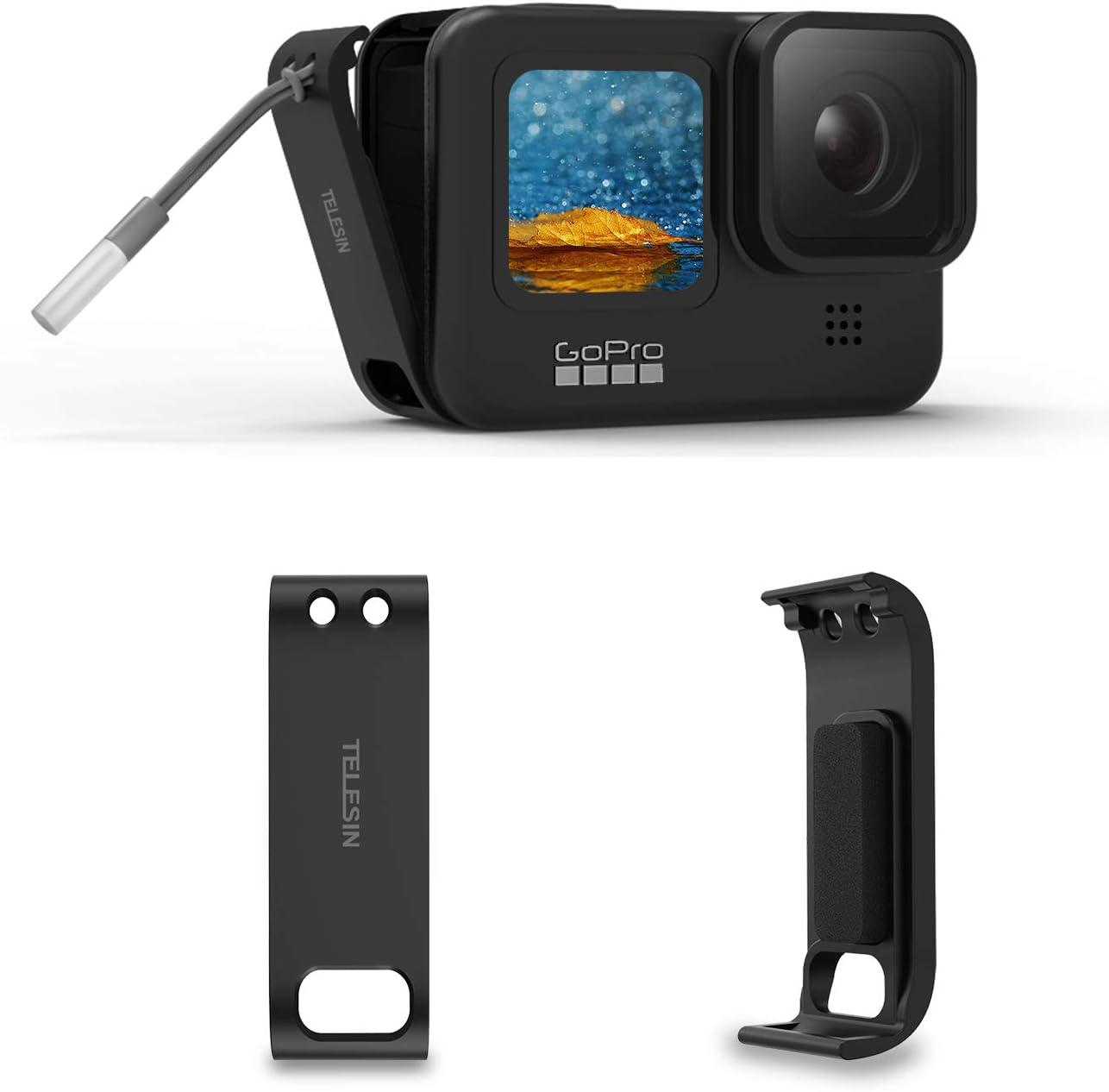 Afaith Akkudeckel Für Gopro Hero 9 Black Aufladbar Kamera