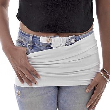 Kit Extension Para Pantalon Y Faja Blanco Amazon Com Mx Bebe