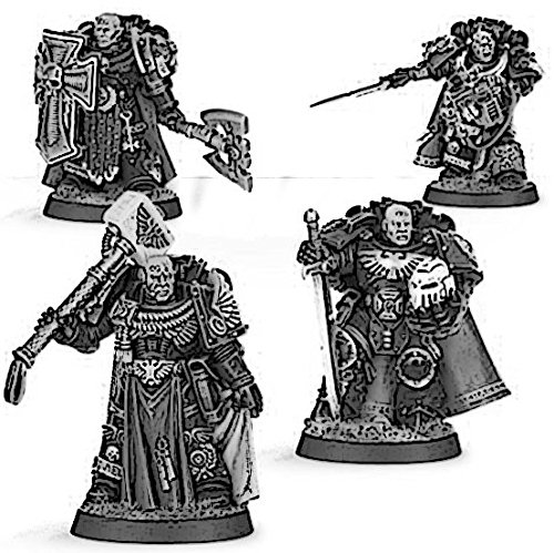 Space Marines Masters of the Chapter Set