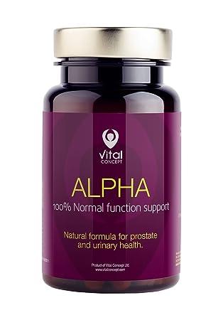 Alpha – Soporta la función de la próstata, en las interferencias de Systems Urinario normal