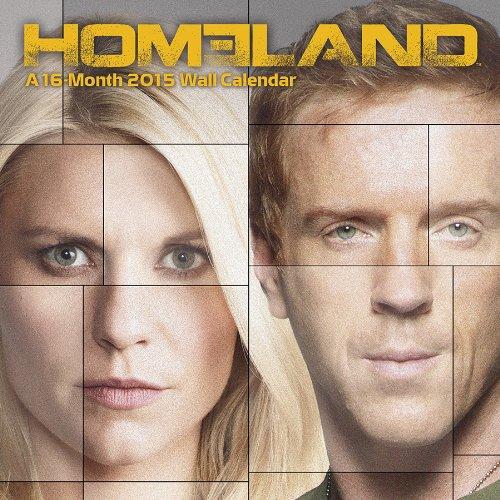 homeland 2015 premium wall calendar