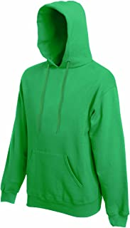 Fruit of the Loom Mens Hooded Belcoro Sweatshirt, 19 hoodies colours BTC