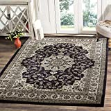 LA Rug Linens Area Rug Traditional Style Living Room Area Rug Persian Inspired Design with Floral Pattern Classic All Over Print Dark Brown 8×10 (Empire 209 Dark Brown) Review