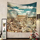 Niasjnfu Chen Custom tapestry Toledo Spain - Fabric Wall Tapestry Home Decor