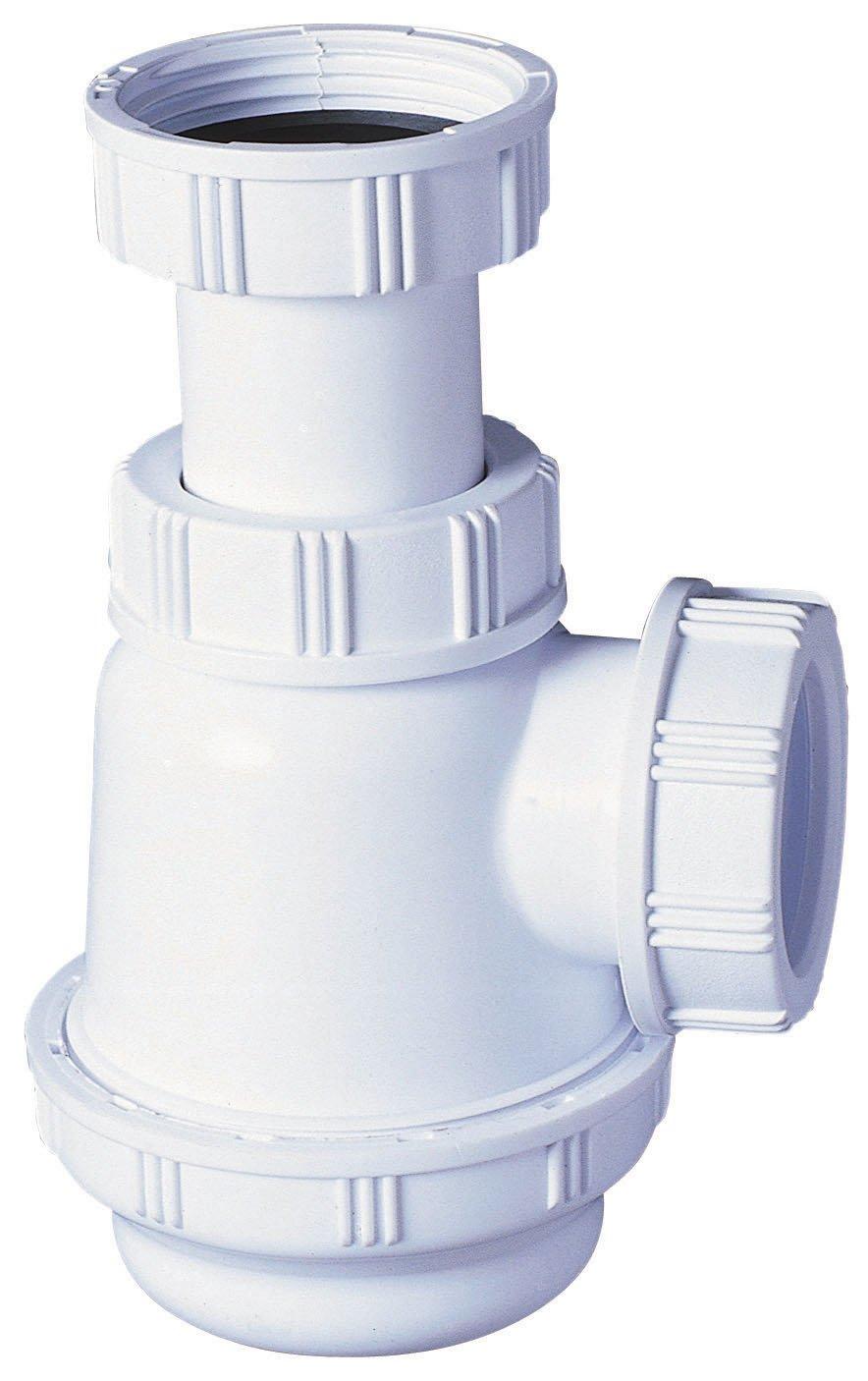 Wirquin SP3178 - Sifon botella pequeno 1.1/4' diá metro 32mm