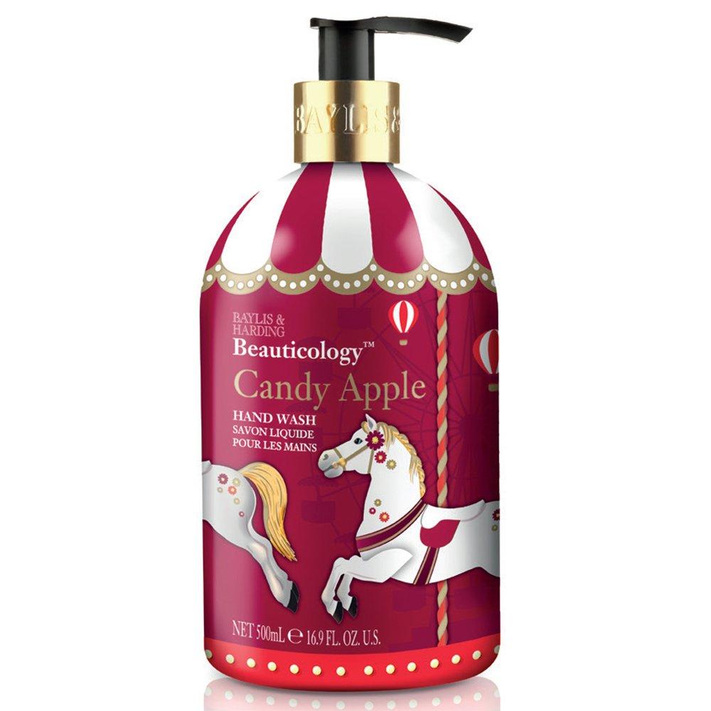 Jabón para las manos de Baylis y Harding Beauticology, de 500 ml, con diseño de soldaditos con bastón de caramelo de fresa: Amazon.es: Belleza