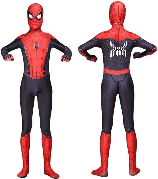 Spiderman Negro Cosplay Ropa Medias Disfraz De Halloween Mono Ropa ...
