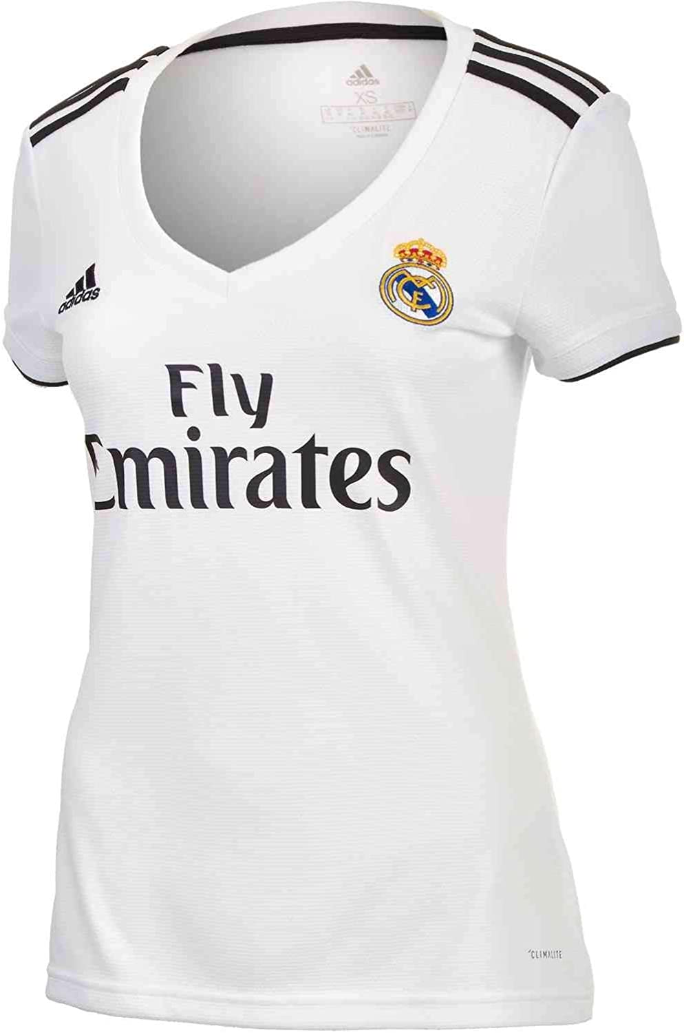 adidas Womens Soccer Real Madrid Home Jersey
