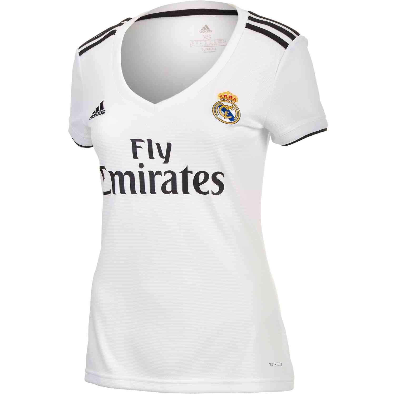 Amazon.com: Adidas Real Madrid Home Jersey para mujer: Clothing