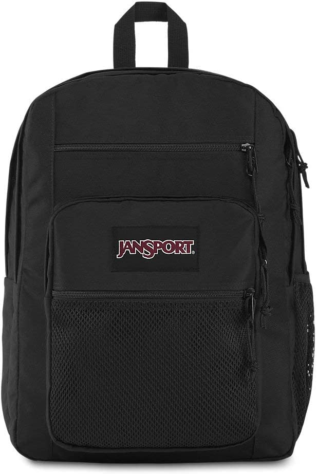 JanSport Big Campus 15 Inch Laptop Backpack - Lightweight Daypack, Black