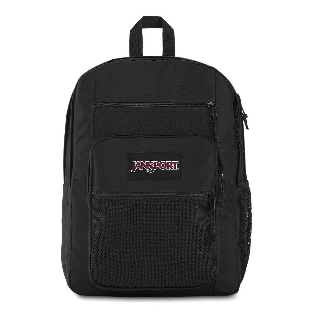 JanSport Big Campus 15 Inch Laptop Backpack – Lightweight Daypack, Black