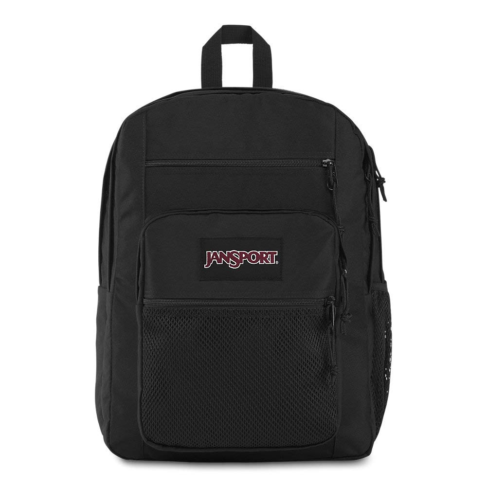 Jansport Big Campus Backpack - Lightweight 15'' Laptop Bag | Black by JanSport