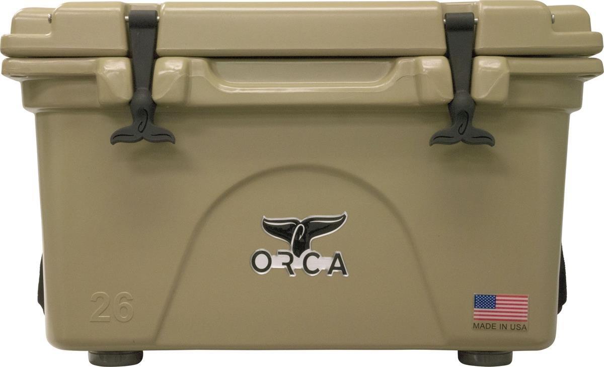 Orca Kühler mit Single Flex-Grip Edelstahl Griff für einfache Solo Portage, Unisex Herren, hautfarben, 26-Quart