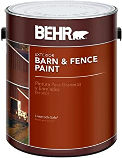 product image for BEHR 1-gal. Red Exterior Barn and Fence Paint