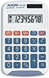 Aurora HC133 Handheld Calculator (Ideal for Primary School Use)-White