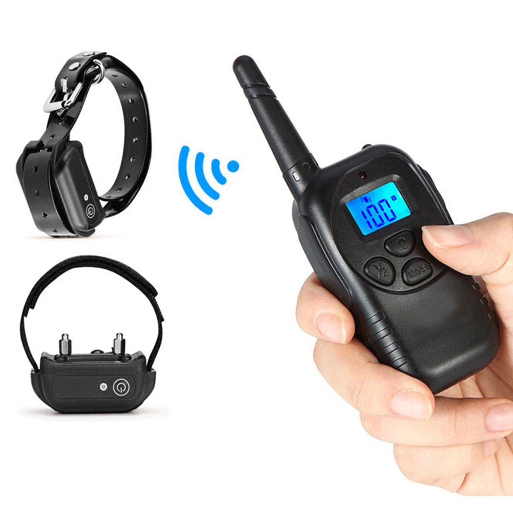 300m Wireless Remote Control Electric Shock Sex Kit BSDM Scrotum Restraint Penis Ring Neck Collar Fetish Dog Training Pulse Therapy Tool by ThinkMax
