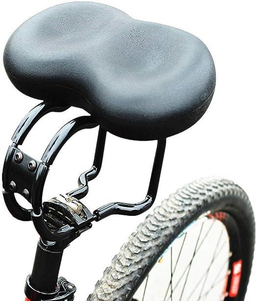 Sillín De Bicicleta Sin Silla Nasal Doble Amortiguador Adecuado ...