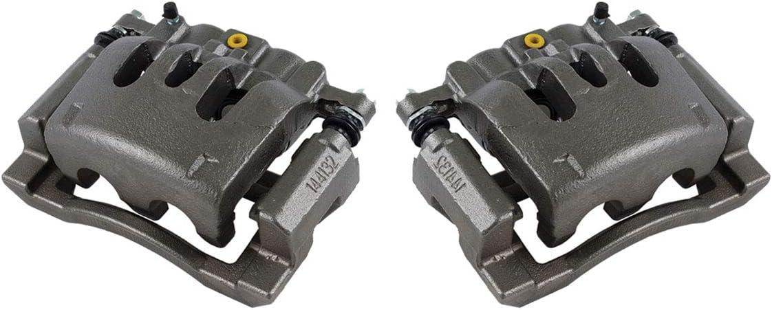2 Premium Grade OE Semi-Loaded Caliper Assembly Pair Set CKOE00969 FRONT//REAR
