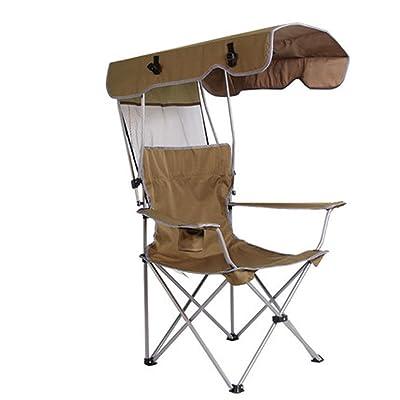 Pliante Avec De Portable Les Chaise L'ombre Pour Camping Gens n0ON8wkXPZ