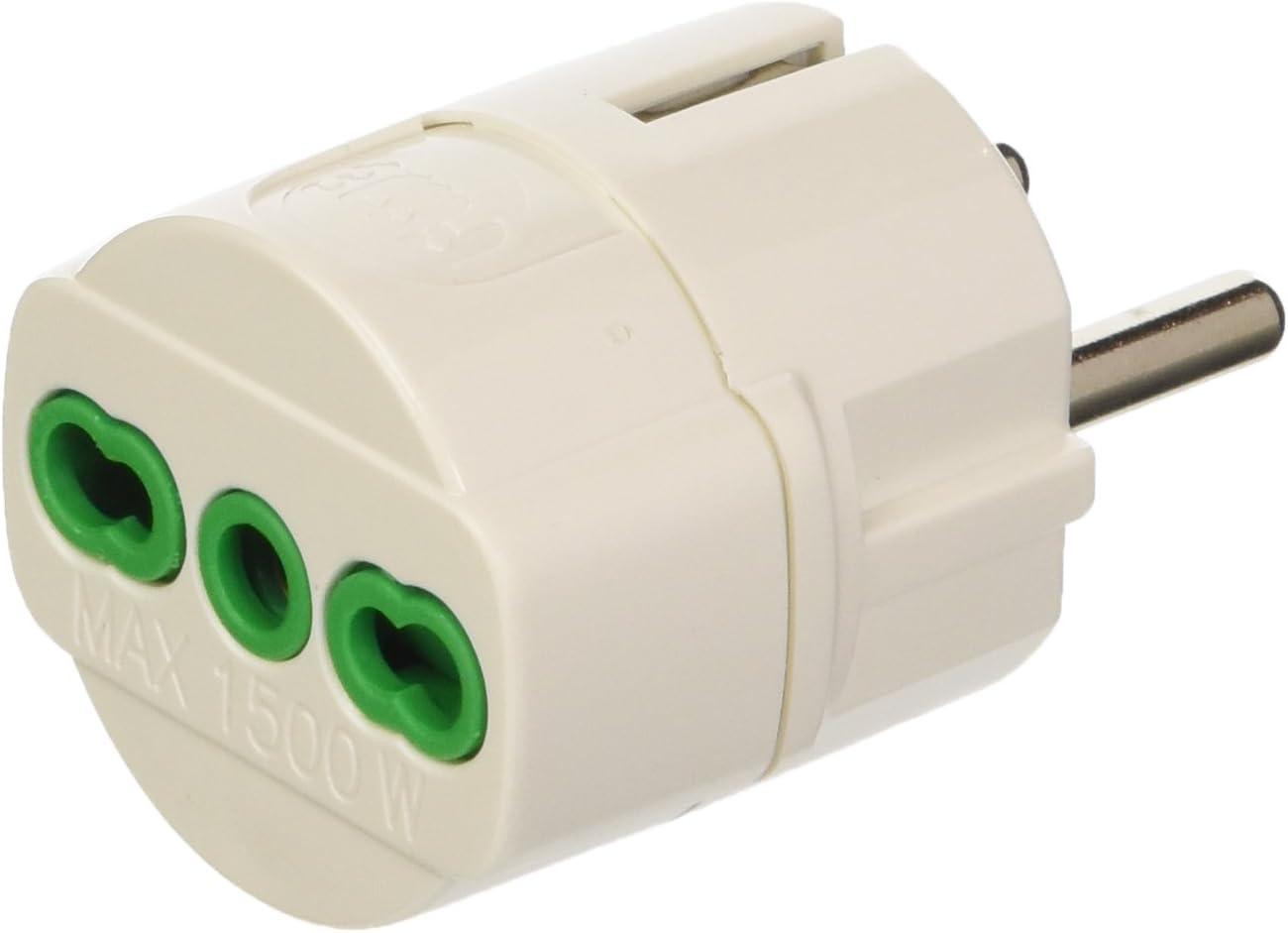 FANTON 81090 - Adaptador de Enchufe eléctrico -: Amazon.es: Bricolaje y herramientas