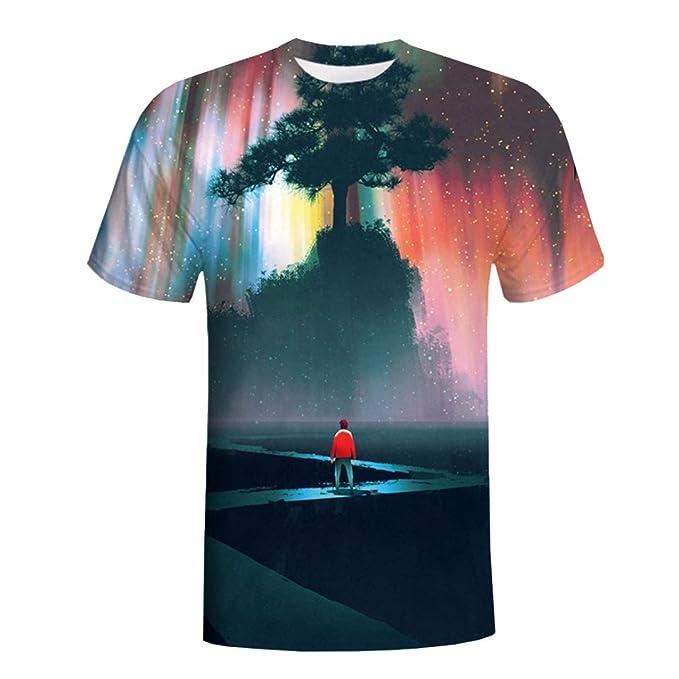 amazon vendita calda a buon mercato arriva ASHOP - T Shirt Uomo, Simple Maglietta Maniche Corte T-Shirt ...