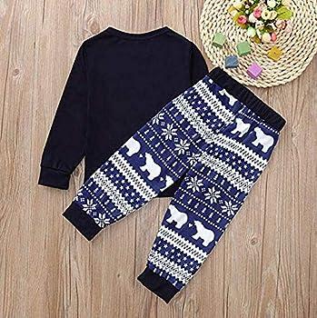Conjunto de Pijamas Familiares de Navidad, Trajes Navideños para ...