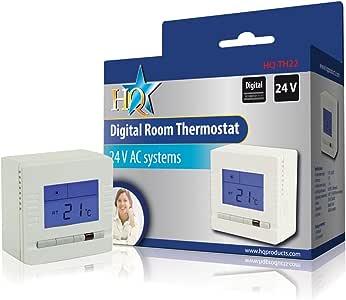 HQ TH22 termoestato - Termostato (LCD, 1 °C, 86 mm, 86 mm