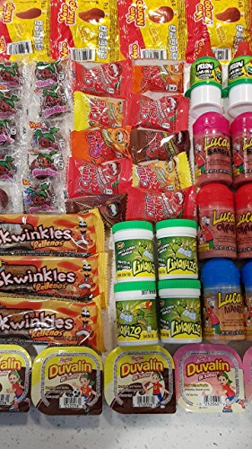 - Glam Lux Candy Assortment of Delicious Mexican Candy Sweet & Spicy Tangy, Vero Mango, Baby Lucas, Pica Fresa, Pelon Pelo Rico, Duvalin & More!