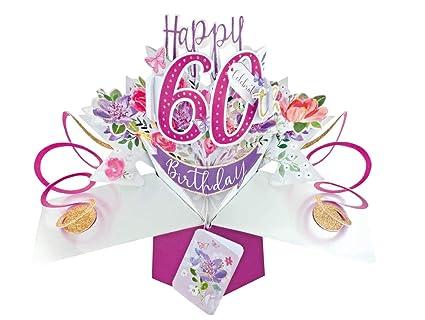 Second Nature - Tarjeta de felicitación para 60 cumpleaños ...