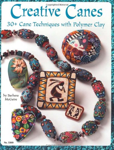 Read Online Creative Canes: 30+ Cane Techniques with Polymer Clay (Design Originals) pdf epub
