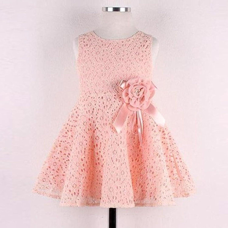 Prinzessin Kleid,Binggong Mädchen Kinder Full Lace Floral One Piece ...