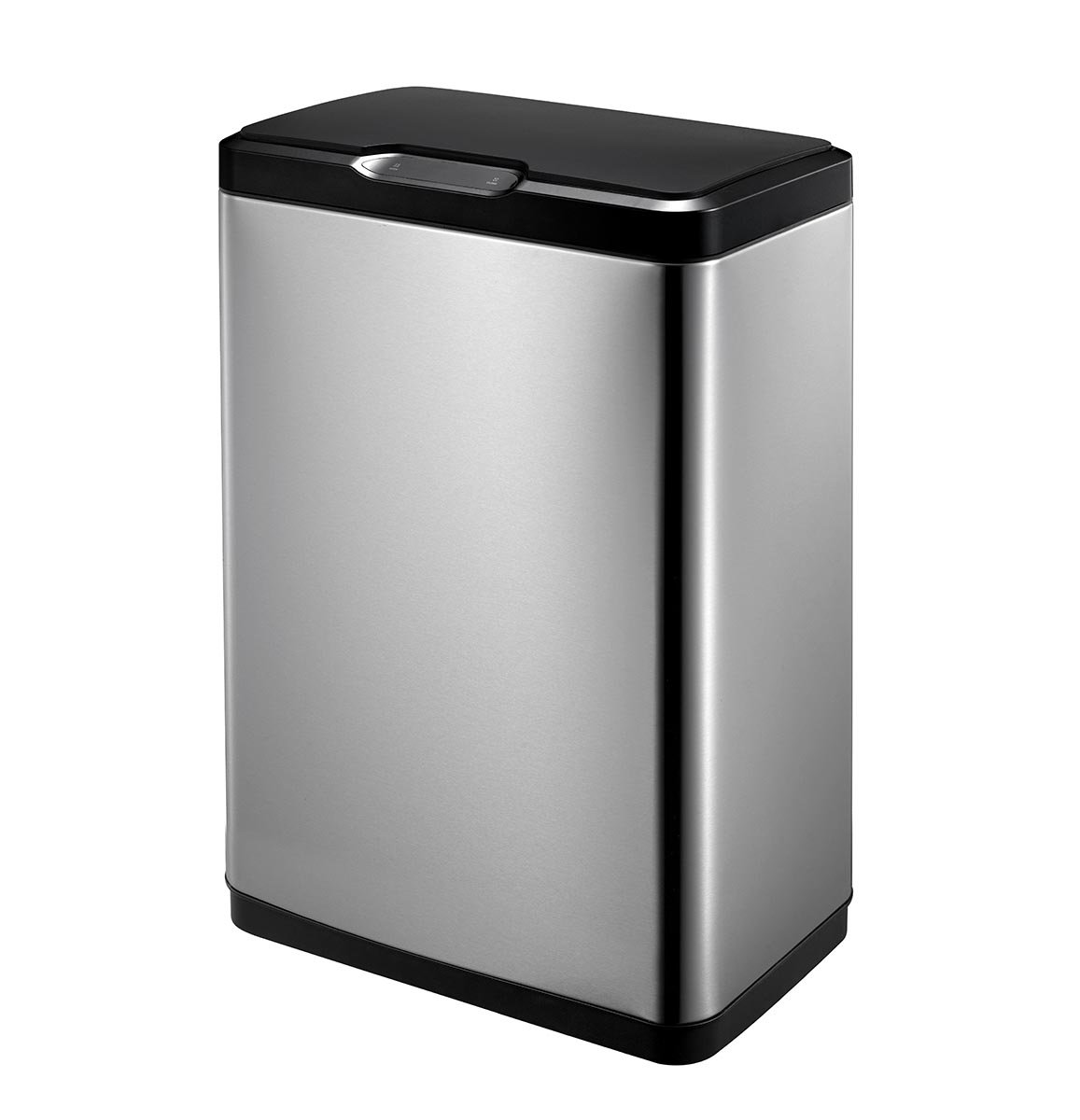 EKO Mirage 50L Trash Can with Soft Close Lid, Stainless Steel EK9278BBMT-50L