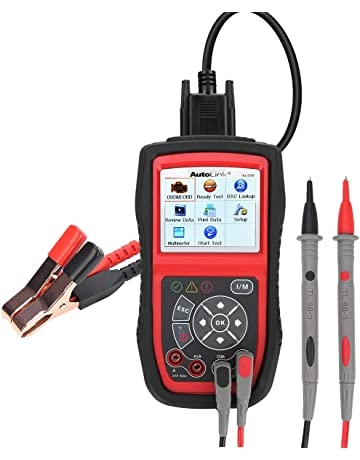 Autel AL539B Diagnostice Tools Code Reader(Full OBD2 Scanner+Avometer+Battery Tester)