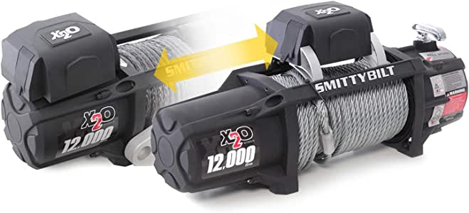 Smittybilt X2O COMP - Waterproof Synthetic Rope Winch - 12,000 lb. Load Capacity