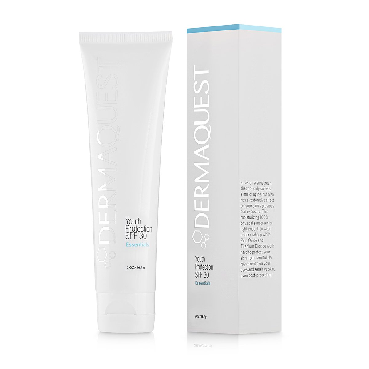DermaQuest Essential Anti-aging Moisturizing Youth Protection Sunscreen SPF 30, 2 oz