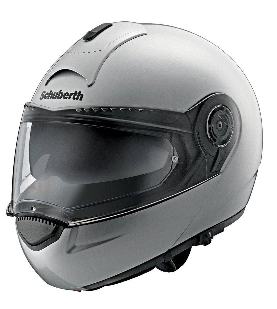 SCHUBERTH C3 BASIC Glossy White Casque Moto Modulable L,blanc
