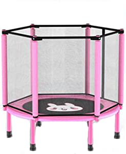 40'' Kids Trampoline, Foldable Trampoline with Safety Enclosure Netting and Anti-Collision Foam, Trampoline for Children Jumping and Training Indoor/Outdoor Activities