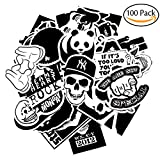 Image of Korlon 100pcs Car Stickers Motorcycle Bicycle Skateboard Snowboard Laptop Luggage Vinyl Sticker Graffiti Bumper Stickers Decals - Random Sticker Pack