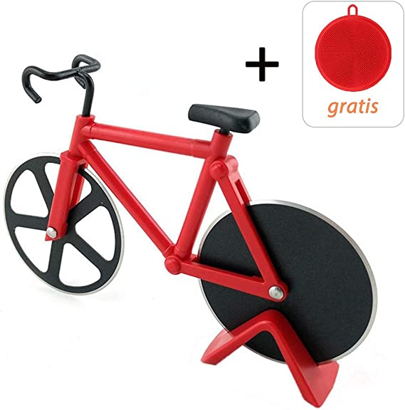 Corta Pizza Bicicleta, Bicicleta de Bicicletas Ruedas de Corte ...