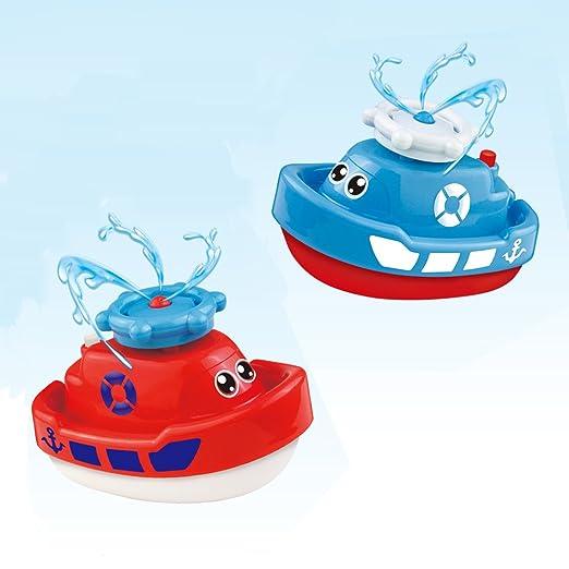 Elektro Boot Dusche Rotierend Badespielzeug für Babys